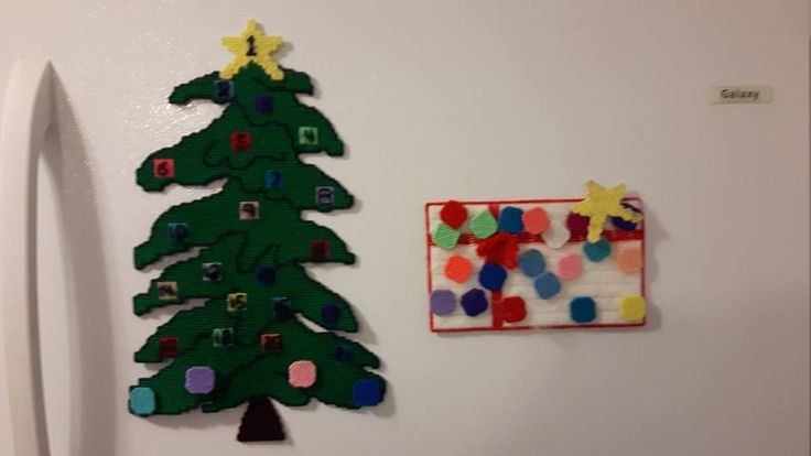 I made this for my kids to count the days to Christmas about 40 years ago! Wow time flies