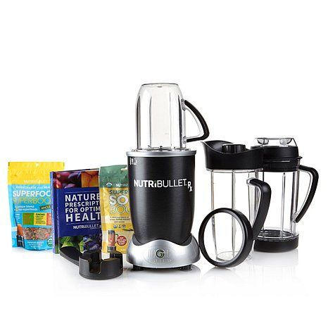 NutriBullet RX with Super Boost & Super Food Combo Pack