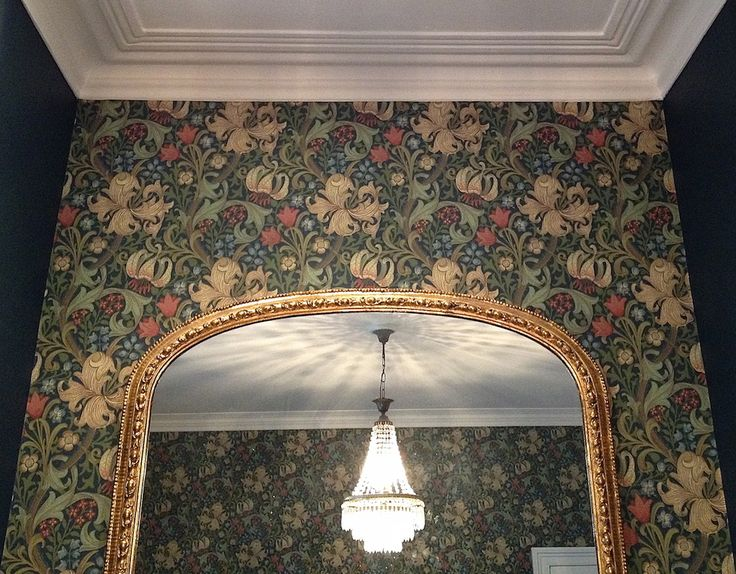 For maximum impact wallpaper the entire room, as well as using mirrors to…