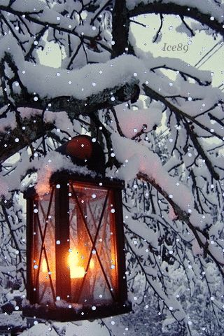 Candle winter