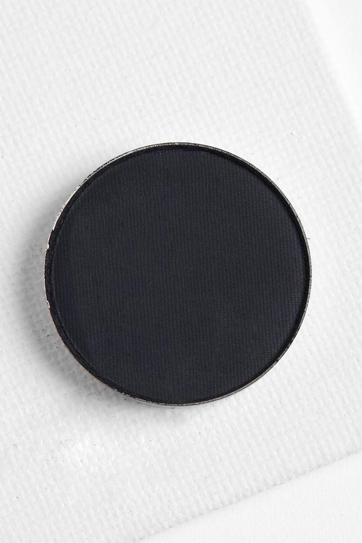 Colourpop Let's Do It matte blackest black Pressed Powder eye Shadow