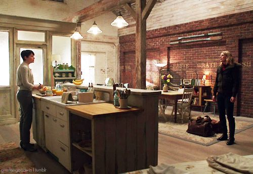 Best 42 mary margaret 39 s apartment once upon a time ideas - Kitchen and dining area design crossword ...