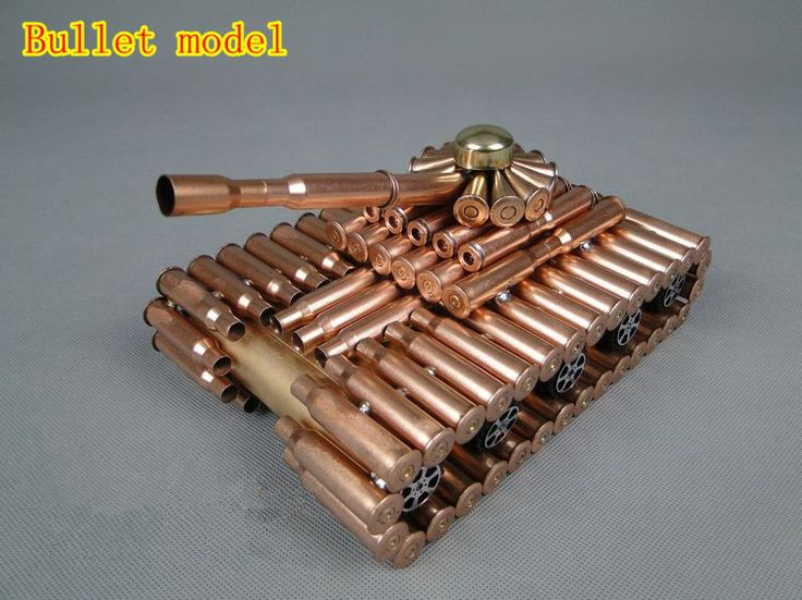Battle tank Bullet shell crafts bullet shell model military tank model DIY-inDiecasts & Toy Vehicles from Toys & Hobbies on Aliexpress.com