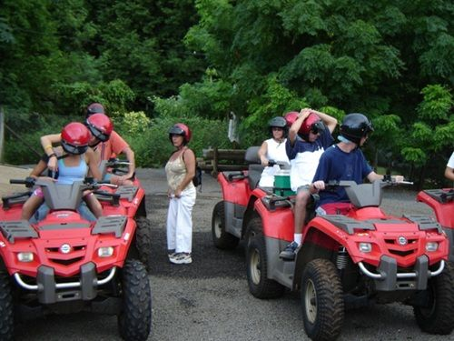 Quad Biking at Casela Nature & Leisure park