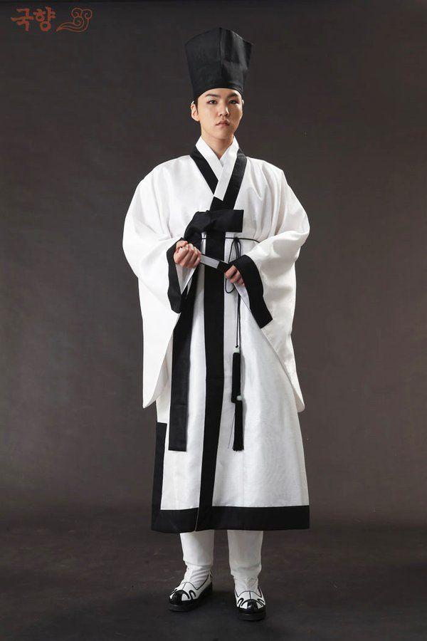 파리해파(@DB_onrein16) 님 | 트위터 - Scholar's clothing from the Joseon Dynasty