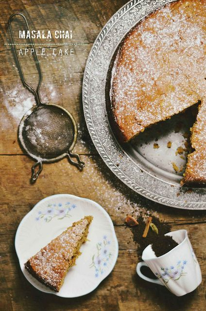 Masala Chai Apple Cake by abrowntable @Nik Sharma