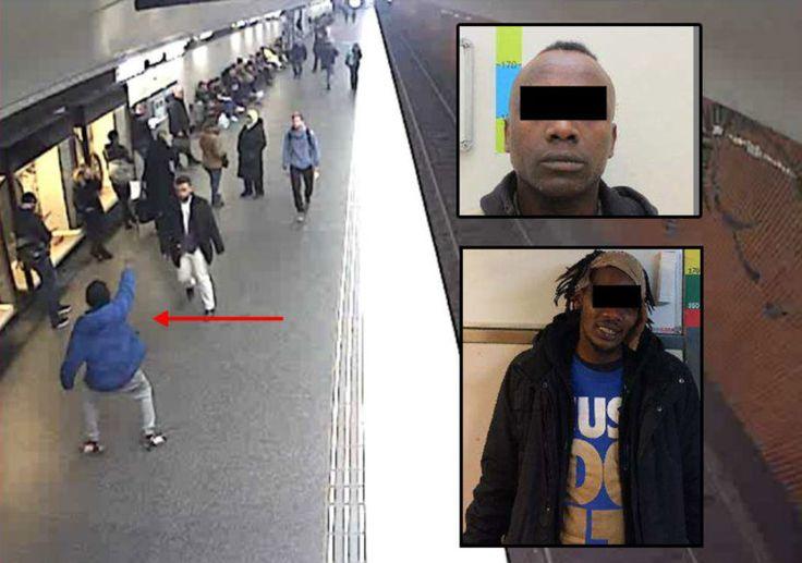 """Sexduon som terroriserar unga flickor i Stockholms tunnelbana: """"Jag ska ta med dig hem och knulla dig!""""."""