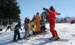 Cours de ski au Prat Mataou