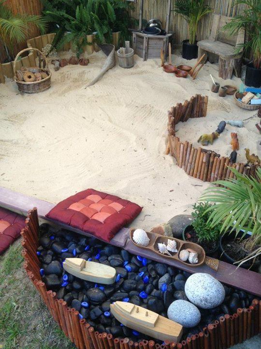 Sandkasten - Erweiterungs - Ideen für unseren Garten!