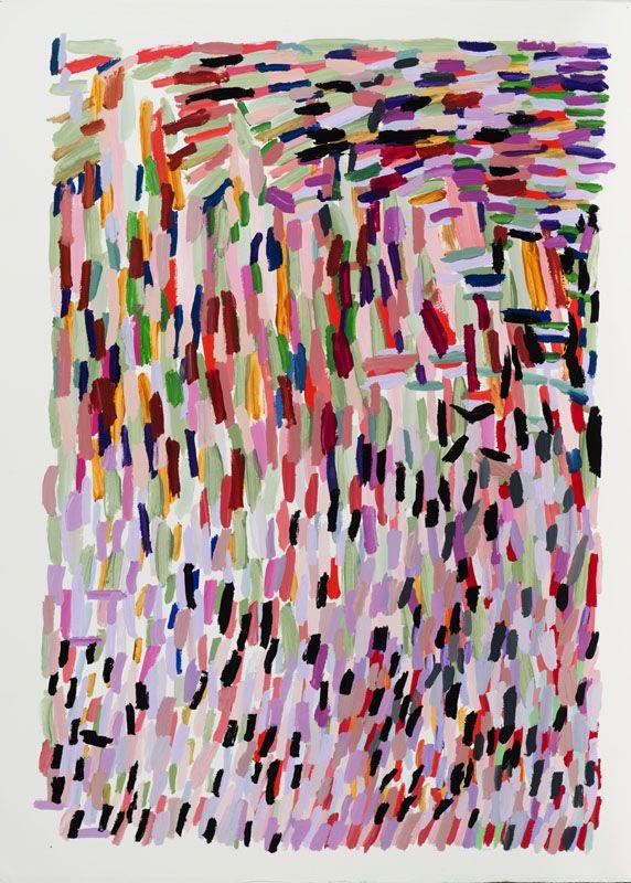 Ellen Soffer, Pink Shadow, 2014 EllenSoffer.com