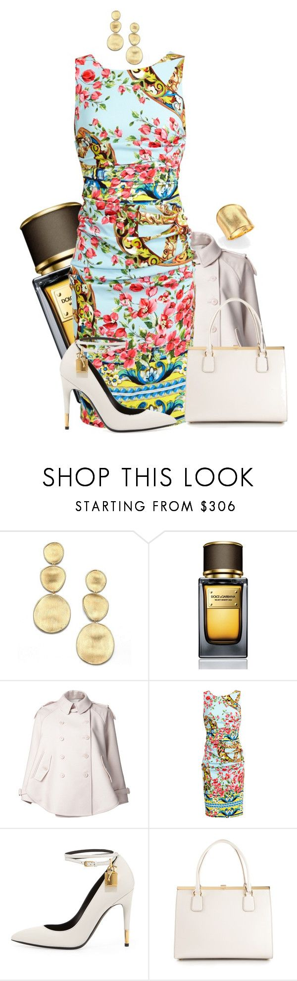 """Springtime? How Trivial!"" by sugar-roses-and-icing-hearts ❤ liked on Polyvore featuring Marco Bicego, Dolce&Gabbana, STELLA McCARTNEY and Tom Ford"