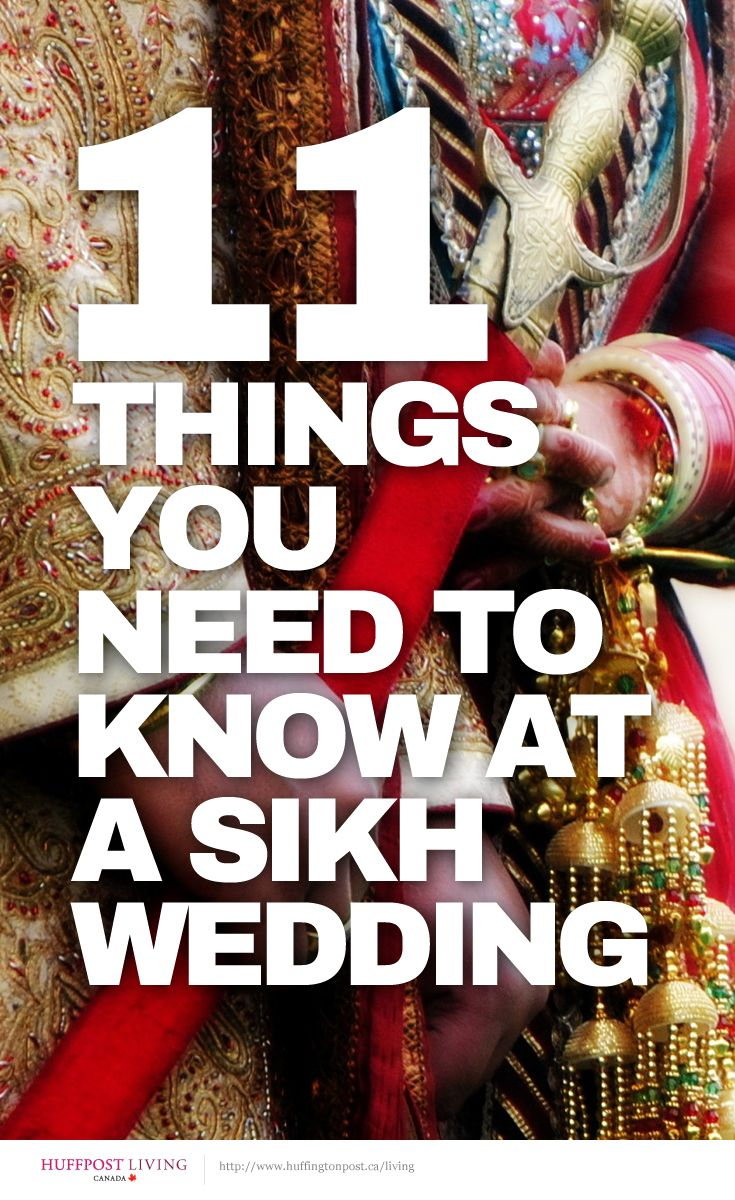 What you need to know before attending a Sikh wedding http://huff.to/OJv05y