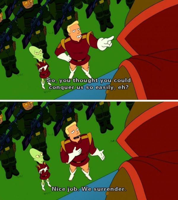 Zapp Brannigan Quotes That Will Make You Miss Futurama - Neatorama