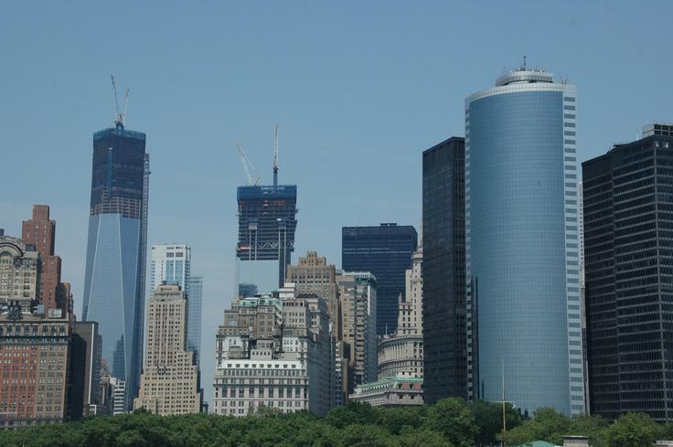 Skyline with WTC