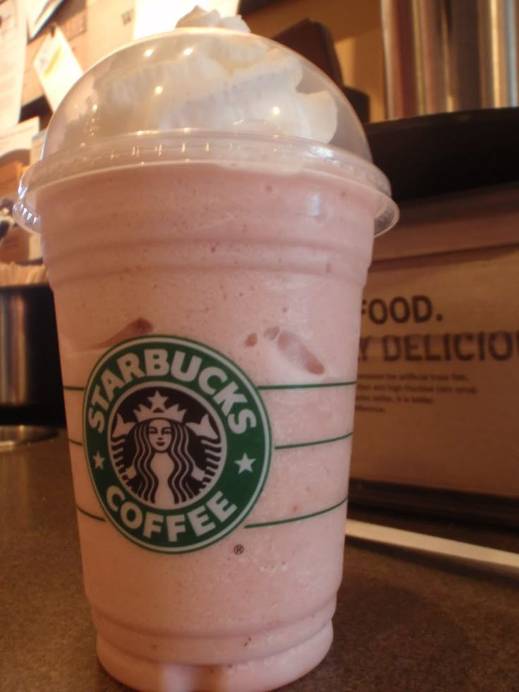 Crunchberry / Captain Crunch Frappuccino            Description:  Basically this drink is a Strawberry and Creme Frapp with toffee nut blended in. It's supposed to taste like Captain Crunch cereal (which is why some people call it the Captain Crunch frapp).