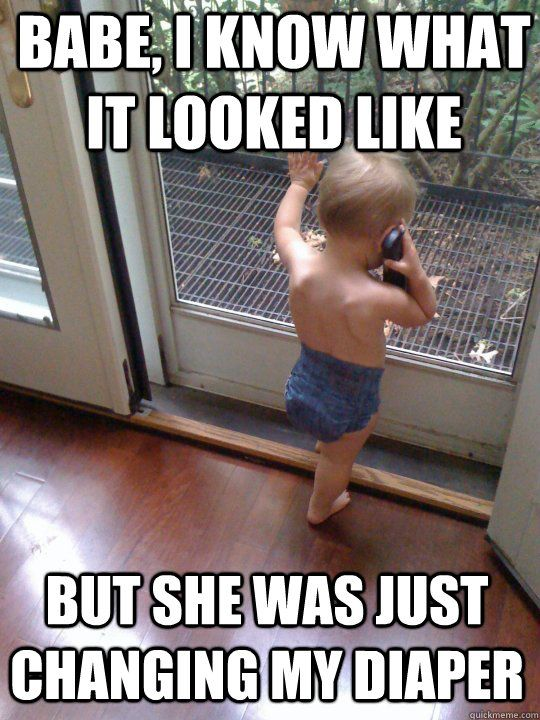 Baby meme - I couldn't stop laughing at this one!!!