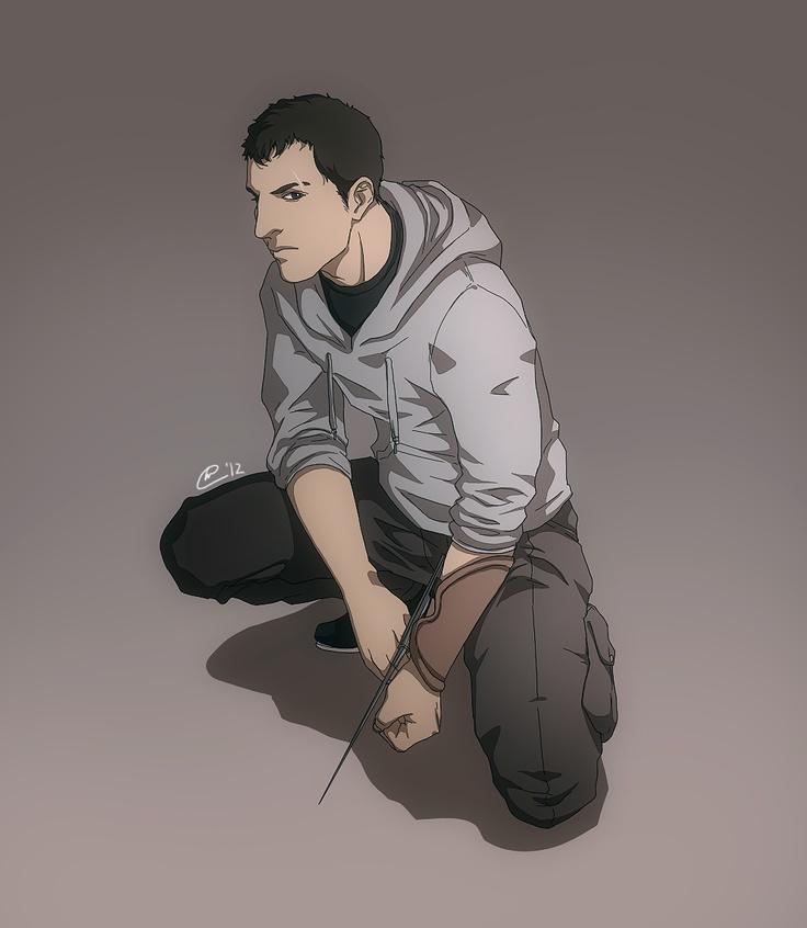 |Commission 1| Moondreamer01 - Adam Black by Ihse---ll.deviantart.com on @deviantART    Adam Black being all assassiny...