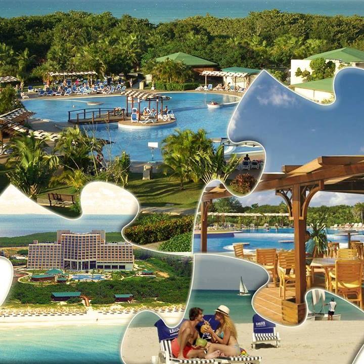 """Hotel Blau Varadero je odvojen samo bujnom vegetacijom od širokog dela kilometarske duge bele peščane plaže Varadera. Luka za izlete """"Marina Chapelin"""" i delfinarijum nalaze se na samo 500 m udaljenosti. Pročitajte više na: http://travelboutique.rs/destinacije/kuba/hoteli/varadero-blau-varadero/ #varadero #cuba #putovanje #letovanje"""