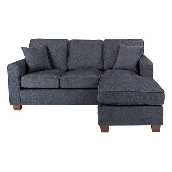 timeless design 2b869 a4e50 Winston Porter Kehlani Reversible Sectional & Reviews ...