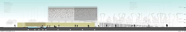 Diseño Arquitectónico y Propuesta Urbana Rudesindo Soto by Diego Iván Goyeneche Rosas, via Behance