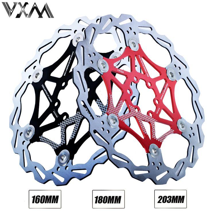 VXM Bicicleta Freno de Disco MTB DH Rotores de Freno De Disco Flotante de 160mm/180mm/203mm Hydreaulic Flotador Rotores pastillas de freno Piezas de Bicicleta