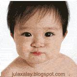 dp bbm animasi bergerak bayi lucu