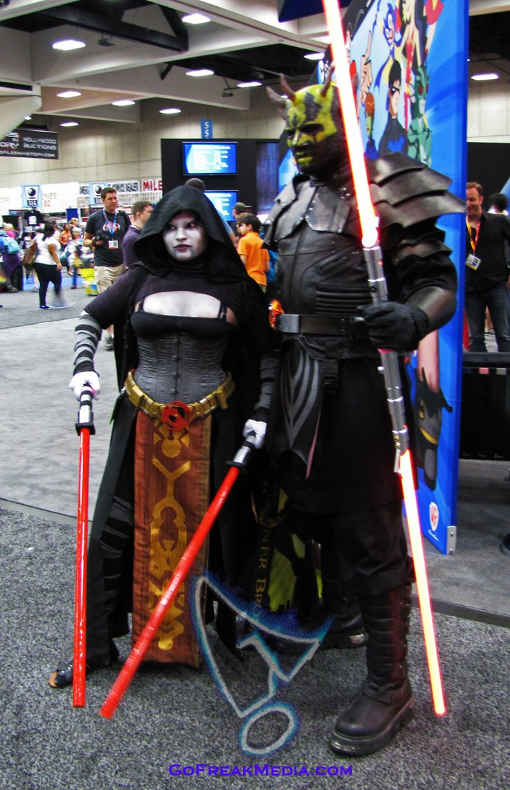star wars sith lords costume comic-con 2012