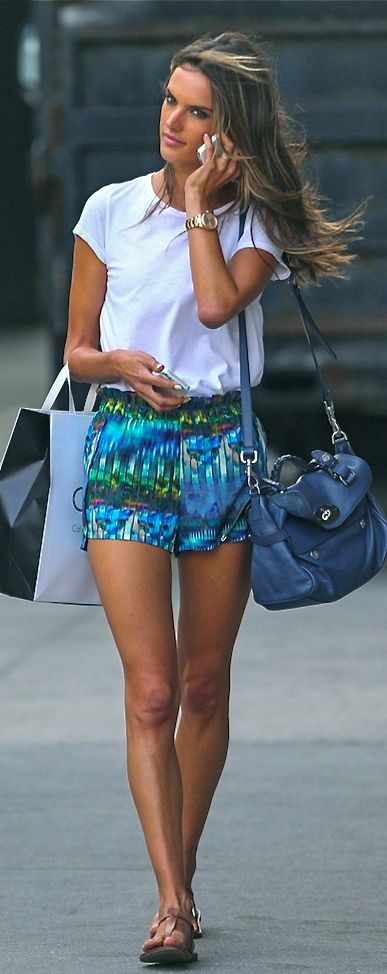 Alessandra Ambrosio. I absolutely love her and almost everything she wears!