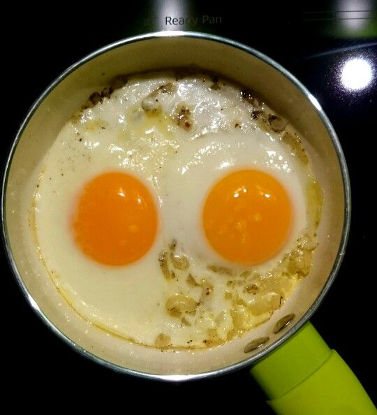 Eggs ;-) my new pan :-)