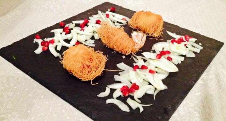 gamberi e capesante in pasta kataifi #food #foodie #springfood