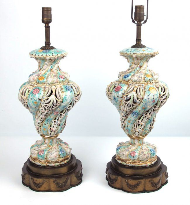 31 Best Capodimonte Lamps Images On Pinterest