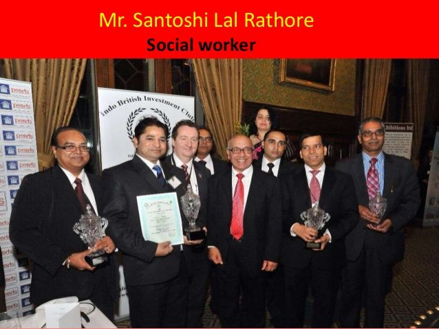 Mr Santoshi Lal Rathore is a social worker always ready to help others. He is the former president of Rathore Samaj.