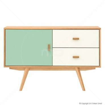 Searching for a record cabinet. 1.Sofia Sideboard - Scandinavian Furniture - Green & White