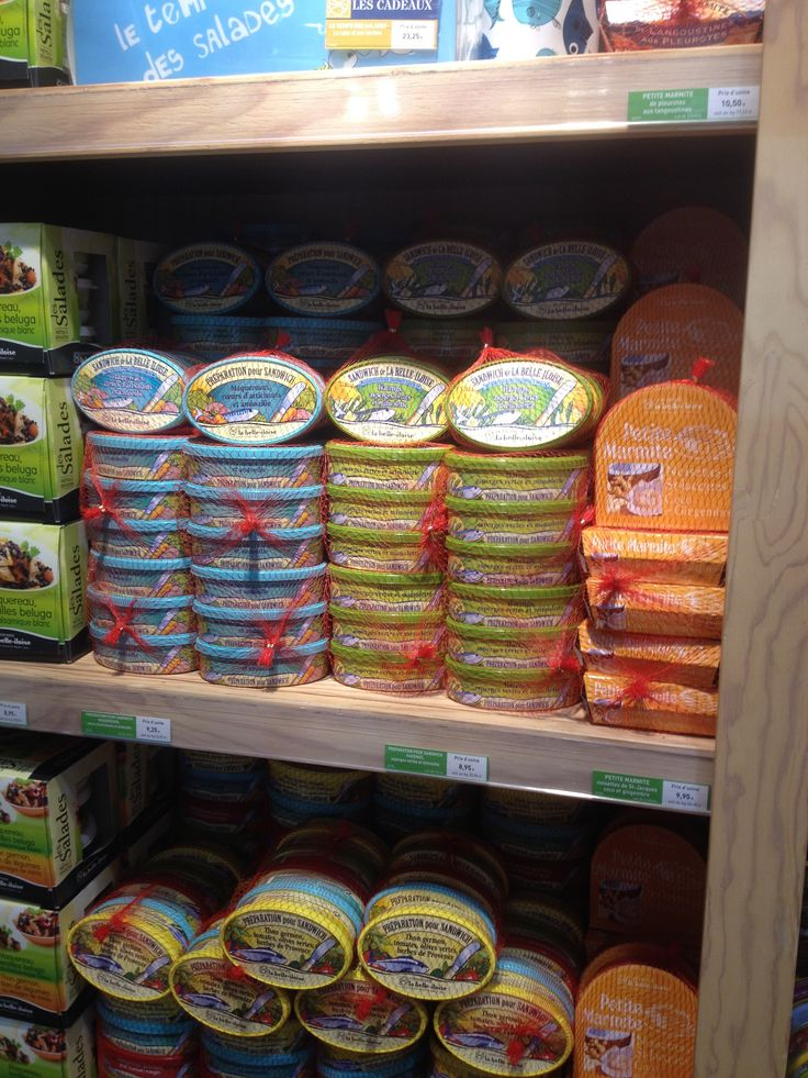 Tinned fish. Who would have thought that would provoke another battering of the credit card?