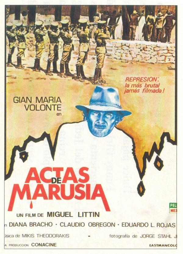 Retrospectiva de Miguel Littin. 'Actas de Marusia' (1976). Para más información clik en la imagen.
