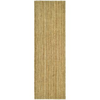 Hand Woven Weaves Natural Colored Fine Sisal Runner X For Upstairs Hall Way