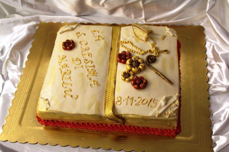 Torta Santa Cresima