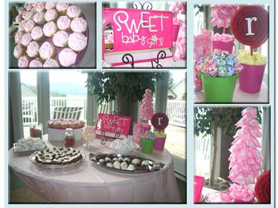 girl baby shower decorations baby shower centerpieces baby shower