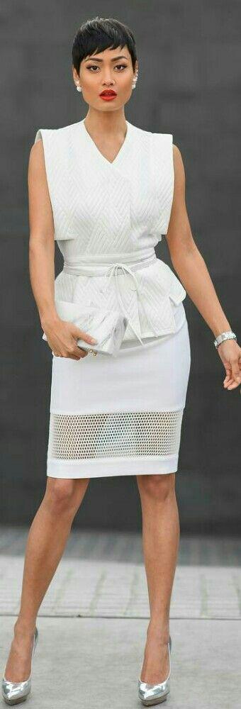 White on White / Fashion by Micah Gianneli