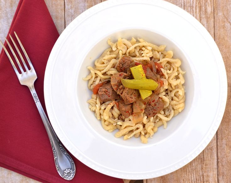 Spaetzle - the German noodle you NEED to know. Original & gluten-free version.