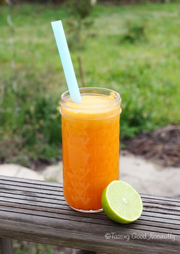 J'avais une énorme envie de partager avec vous mon dernier coup de coeur en matière de jus : le jus de carotte, orange, citron vert et gingembre !