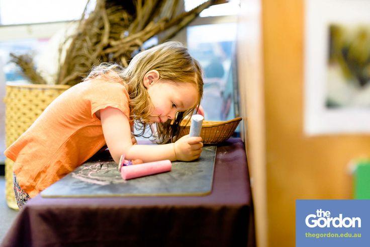 #study #childrensservices @ #thegordon   #play #fun #chalk   #geelong #werribee   www.thegordon.edu.au/childrensservices