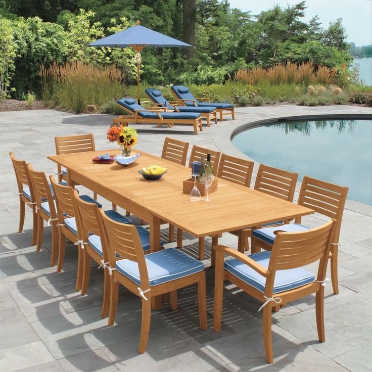 Make Every Warm Summer Day Perfect With The Calypso Extension Table Perfect For Parties And