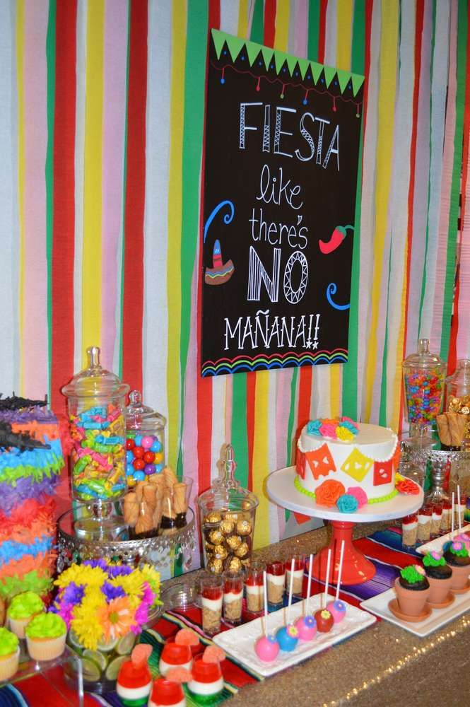 Colorful Cinco de Mayo party! See more party planning ideas at CatchMyParty.com!