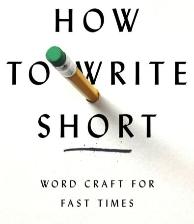 How to write short tips on making the most of every word for How to write a craft book