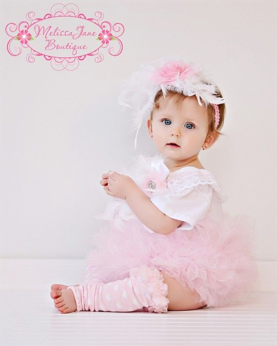 Baby Soft Pink Ruffled Onesie by sharpsissors on Etsy, $37.99