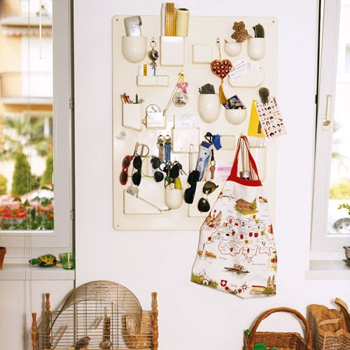Uten.Silo organizer. This would be great in an office, kitchen, bathroom and children's room.