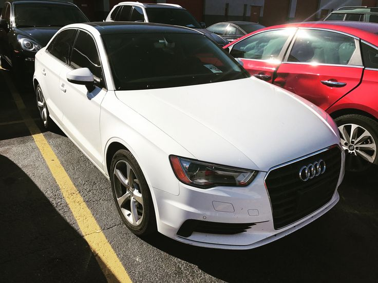 2016 Audi A3 #audi #audia3 #car #cars #auto #autos #whip #friday #tgif #white #sedan #luxury #elegant #prestigeautotech