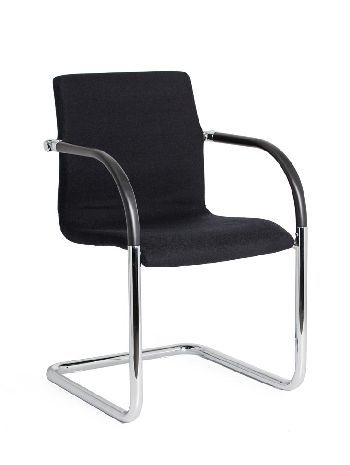 The Design Cantilever super sleek slim-line styling creates a practical Visitor chair suited to commercial and residential use #seated #visitor #reception #design seated.com.au