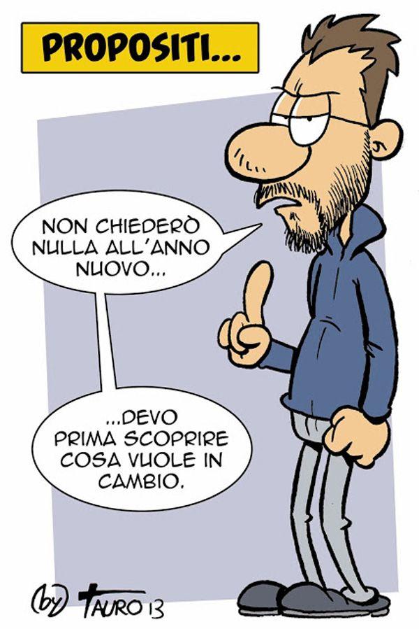 Propositi per l'anno nuovo... #IoSeguoItalianComics #Satira #Politica